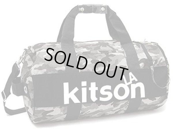 画像1: 【特売】キットソン(kitson)ドラム型2WAYボストンバッグ(迷彩) (1)