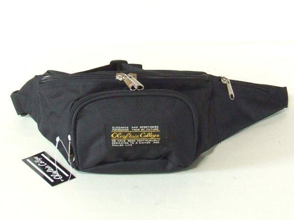 画像1: 【sale】メンズ&レディース小さめサイズのウエストバッグ(2色有) (1)