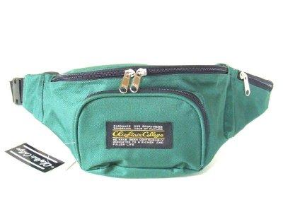 画像1: 【sale】メンズ&レディース小さめサイズのウエストバッグ(2色有)