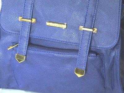 画像3: 【sale】リュック&ショルダー3WAYバッグ(ブルー)