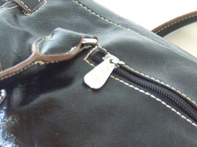 画像3: 【訳有】HAKU型押し合皮高級ハンドバッグ