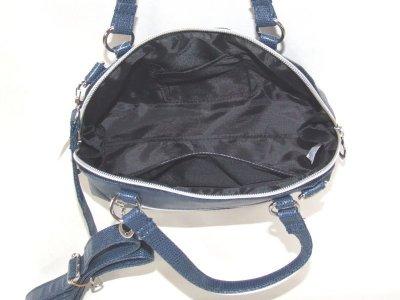 画像2: 【sale】レディース斜め掛け合成皮革2wayミニショルダーバッグ(4色有)