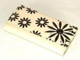 フラワー柄長財布(2色有)