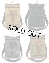 【sale】使い勝手の良い2室構造の帆布工房2WAYシザーバッグ(4色有)