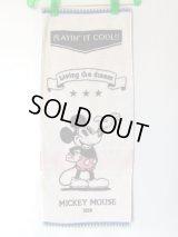 ディズニー・ミッキーマウス可愛いフェイスタオル綿100%
