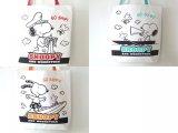 レディース&女の子に人気のスヌーピーSNOOPYキャンバス帆布トートバッグ【メール便ok】