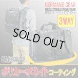 【sale】ポリカーボネイトコーティング3WAYビジネスバッグ/黒