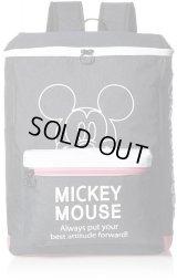 【sale】人気のミッキーマウスDISNEYレディース&キッズ女の子おしゃれな大容量スクエアリュックサック(3色有)