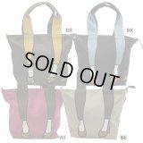 【sale】女性に人気のブランド【mis zapatos】おしゃれなナイロンレディース2wayトートバッグ(2色有)