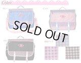 【sale】女の子に人気のシュープCHOOPのかわいいチェック柄3wayバッグ(2色有)