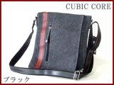 CUBIC CORE帆布ショルダーバッグ(2色有)