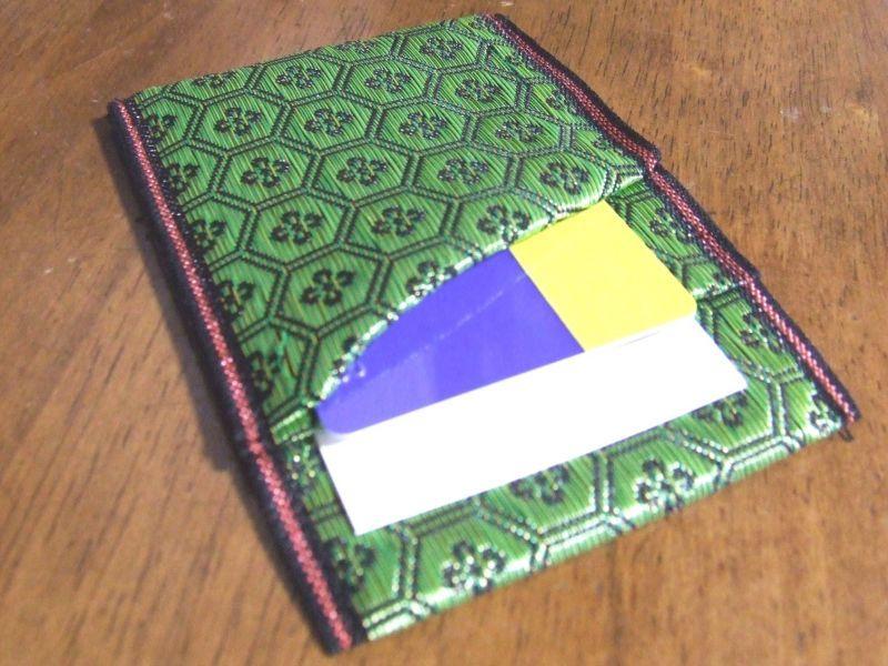 【入荷案内】畳の縁で作った名刺&カード入れ