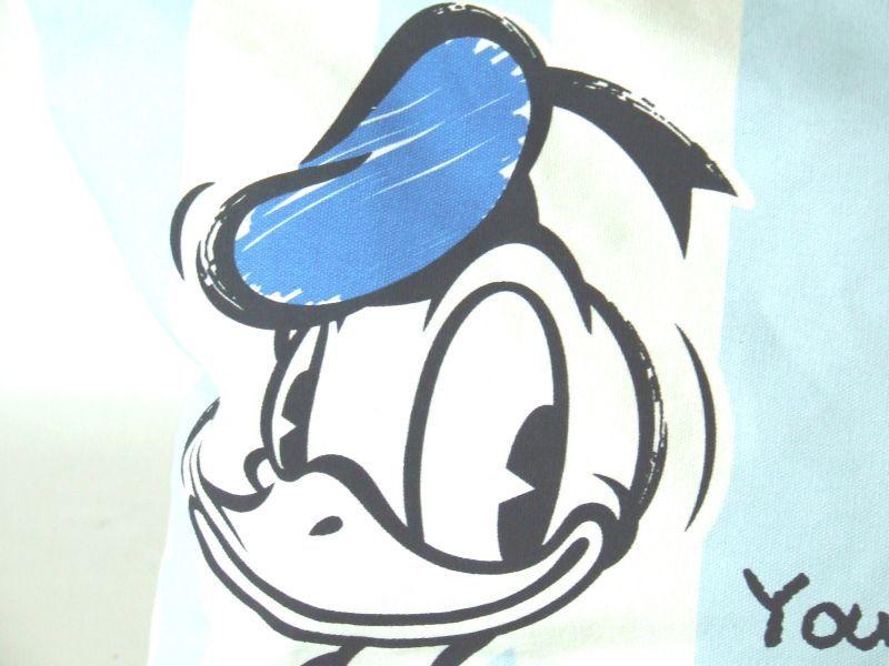 Disneyドナルドダックストライプトートバッグ [DS,0329]