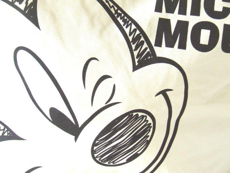 Disneyミッキーマウス手描き風トートバッグ [DS,0318]